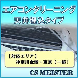 エアコンクリーニング 内部高圧洗浄 家庭用 天井埋め込みタイプ 全送風口対応 エアコン 掃除 | 神...
