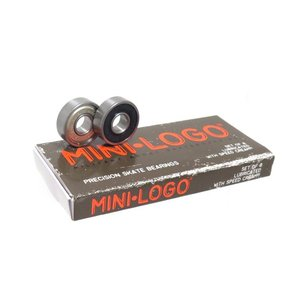 MINI LOGO BEARING ミニロゴ ベアリング PRECISION SKATE BEARI...