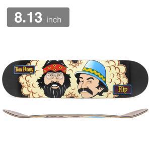 【FLIP / DECK】  長さ81.3cm 幅20.6cm ノーズ18.7cm テール17.3c...