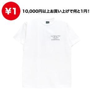 1円アイテム ¥10.000以上お買い上げの方限定 CALIFORNIA STREET T-SHIRT カリフォルニアストリート Tシャツ FUTURA FULL LEFT WHITE スケートボード スケボー