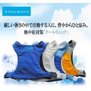 熱中対策 暑さ対策 冷却ベスト COOLRUCK クールリュック|csf-yamamoto