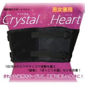 猫背 胸部補正 サポートベルト アセット・クリスタルハート|csf-yamamoto