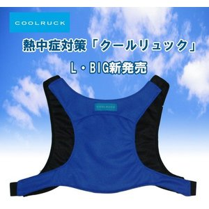 熱中対策 暑さ対策 冷却ベスト COOLRUCK クールリュック L・BIGサイズ|csf-yamamoto
