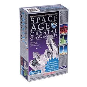 KRISTAL 503宇宙時代の結晶 - 4クリスタルクォーツ、アンバー、エメラルド、フッ化物 csh