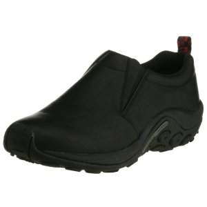 [メレル] ウォーキングシューズ ジャングルモックレザー  Black Black 8.5(26.5cm) 2E csh