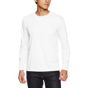 (ユナイテッドアスレ)UnitedAthle 5.6オンス 長袖Tシャツ 501001 [メンズ] 001 ホワイト L|csh
