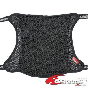 コミネ KOMINE バイク バイクシートカバー 3Dエア メッシュ シートカバー2層アンチスリップ ブラック L (W360XL330) 09-109 AK-109 csh