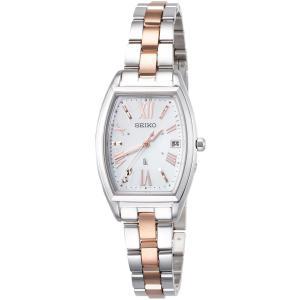 [ルキア]LUKIA 腕時計 LUKIA ソーラー電波 ダイヤ入り白蝶貝文字盤 サファイアガラス SSVW117 レディース|csh