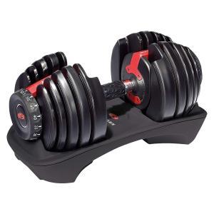 ボウフレックス(Bowflex) 552i SelectTech Dumbbell(セレクトテックダンベル)(単品販売)可変式 アジャストダンベル csh