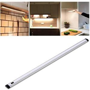 Lexu LED キッチン用ライト 手元灯 バーライト キッチン 流し元灯 タッチレススイッチ センサーライト スリムライト 壁掛け式 キッチン照明 手を振ることで操作 csh