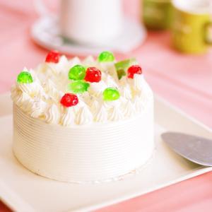 バタークリームケーキ 4号 直径12cm 約2〜4名用 ホールケーキ 冷凍便 送料無料|csidoabata