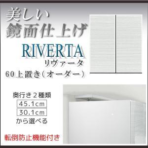 壁面収納 上置き 白 ホワイト 幅60cm上置 上置 棚 キャビネット リビング収納 収納 テレビ台 TVB TV台 AV収納 スリム csinterior