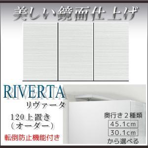 壁面収納 上置き 白 ホワイト 幅120cm上置 上置 棚 キャビネット リビング収納 収納 テレビ台 TVB TV台 AV収納 スリム csinterior