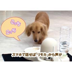 安心ペットモニター「リモカ」 水飲み器 おやつポケット一体型 ペット見守りカメラ csr-netshop 06