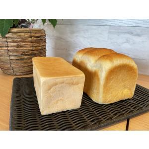 「グルテンフリー・国産米粉100%食パン1斤」+「天然酵母・和三盆プレミアム食パン1.5斤」2本セット