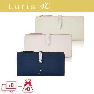 Luria4℃ ルリアヨンドシー 財布 二つ折り 薄型長財布...