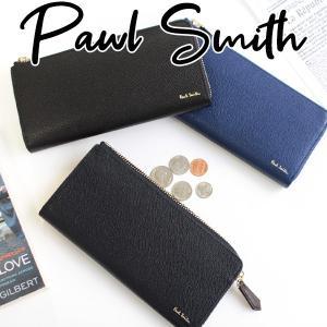ポールスミス 財布 メンズ 長財布 ラウンドファスナー PSC416 カラーフラッシュ...
