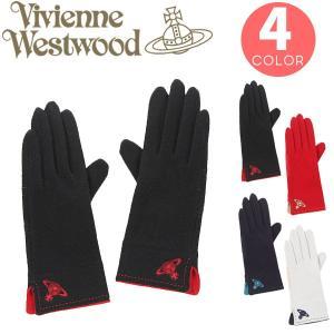 ヴィヴィアンウエストウッド 手袋 ワンポイントORB レディース|cstyle