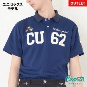 定価¥10,780 クアルトユナイテッド CU62刺繍ポロ・ユニセックス|cuartounited
