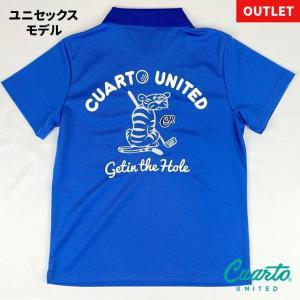 定価¥10,780 クアルトユナイテッド バック刺繍ポロ・ユニセックス|cuartounited