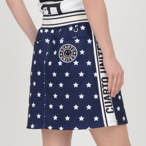ゴルフ スカート 20SS クアルトユナイテッド 星 柄 サイド ロゴ|cuartounited|10