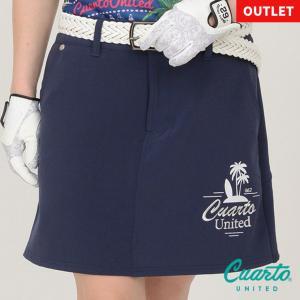 ゴルフ スカート 20SS クアルトユナイテッド サーフ バック プリーツ|cuartounited