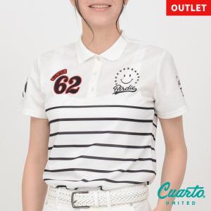 20SS新作 クアルトユナイテッド スマイルシンプルポロシャツ|cuartounited