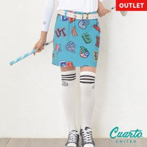 定価¥8,580 クアルトユナイテッド アルファベットスカート リンクコーデ可