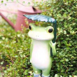 ガーデン 葉っぱ 傘 カエル Copeau コポー クッチーナ