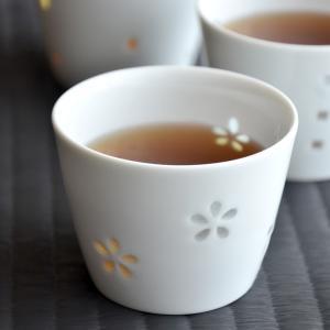 お酒 湯呑み ほたる 梅酒カップ 藍花 Aika 有田焼 陶器 日本製 グラス 梅酒 おしゃれ かわいい ギフト 雑貨 プレゼント クッチーナ|cucina-y
