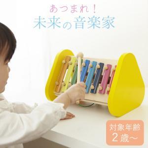 知育玩具 2歳 森の音楽会 エドインター 木のおもちゃ 楽器 鉄琴 ベビー キッズ 出産祝い 誕生日 ギフト プレゼント 贈り物 クッチーナ|cucina-y