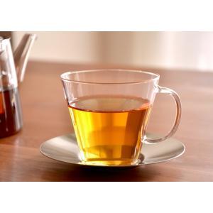 カップ&ソーサー ストレート ステン LAVIA ラヴィア クッチーナ ティーカップ 耐熱ガラス ガラス 北欧 紅茶 アデリアガラス おしゃれ かわいい プレゼント cucina-y