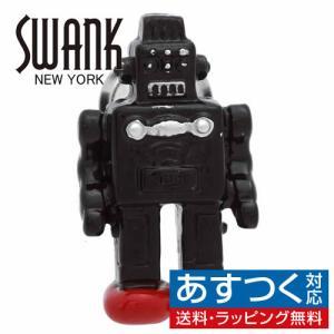 ピンズ ラペルピン スワンク ロボット ブラック SWANK