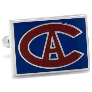 カフス カフスボタン ビンテージ モントリオール カナディアンズ NHL アイスホッケー カフリンク...