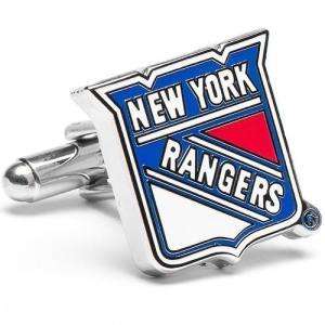 カフス カフスボタン ニューヨーク レンジャース NHL アイスホッケー カフリンクス メンズアクセ...
