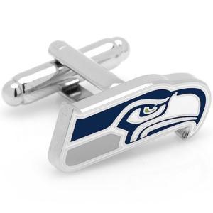 カフス カフスボタン シアトル シーホークス NFL アメフト カフリンクス メンズアクセサリー