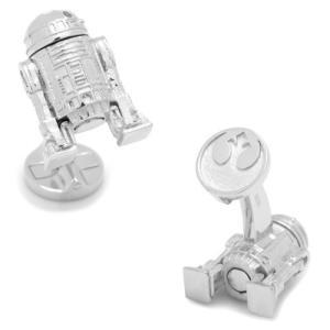 Star Wars スターウォーズ スターリングシルバー 3D R2D2 カフス 【カフスボタン カフリンクス】