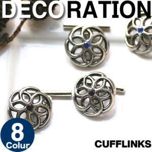 スワロフスキー デコレーションカフス (カフスボタン カフリンクス)|cufflink
