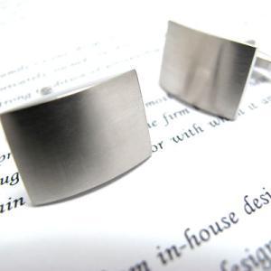【30%OFF】 マットシールドカフス (カフスボタン カフリンクス) Simple 2500 【サマーセール】 cufflink