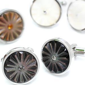 シェルソラーレカフス (カフスボタン カフリンクス) Basic 5000|cufflink
