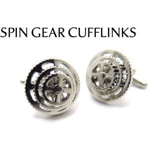 スピンギアカフス (カフスボタン カフリンクス) Value 3500|cufflink