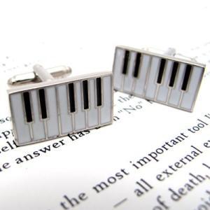 キーボードカフス (カフスボタン カフリンクス) Simple 2500|cufflink