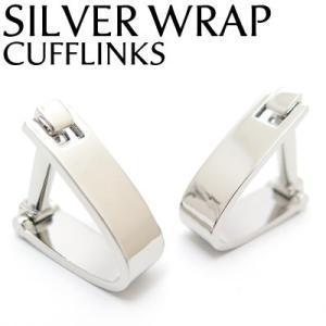 シルバーラップカフス (カフスボタン カフリンクス) Value 3500|cufflink