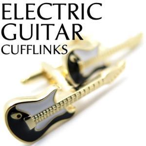 エレキギターカフス (カフスボタン カフリンクス) Value 3500|cufflink