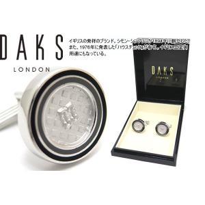 DAKS ダックス ダブルサークルエポキシカフス (カフスボタン カフリンクス)|cufflink