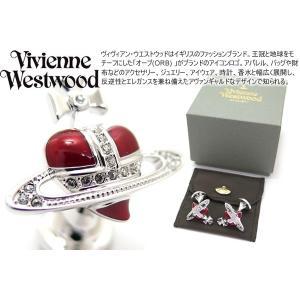 Vivienne Westwood ヴィヴィアン・ウエストウッド ディアマンテレッドハートカフス (カフスボタン カフリンクス)|cufflink