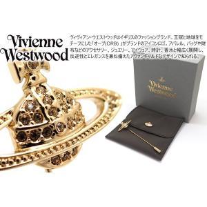 Vivienne Westwood ヴィヴィアン・ウエストウッド ミニバスレリーフラペルピン(ゴールド) (ブローチ/スタッズ) cufflink