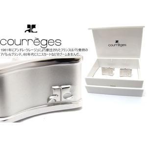 courreges クレージュ アンジュレーションカフス (カフスボタン カフリンクス) cufflink
