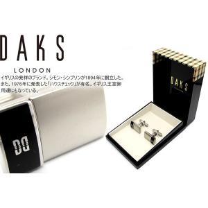 DAKS ダックス サイドオニキスカフス (カフスボタン カフリンクス)|cufflink
