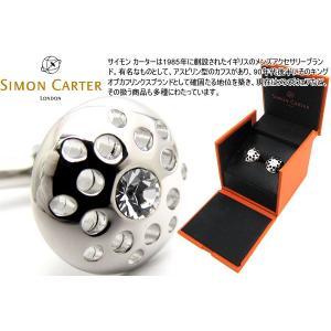 SIMON CARTER サイモン・カーター シーヴカフス(クリアー) (カフスボタン カフリンクス)|cufflink
